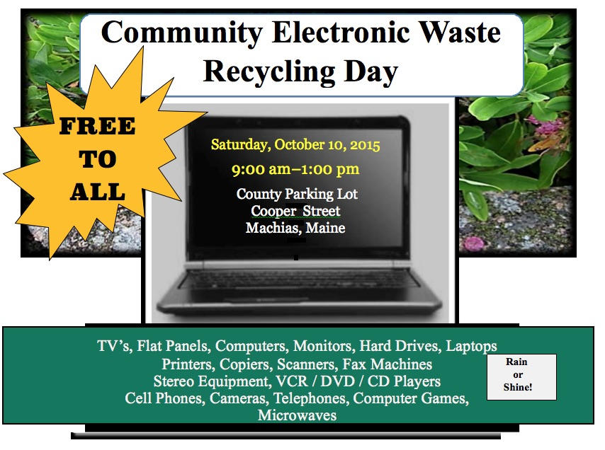 E-Waste Collection Poster