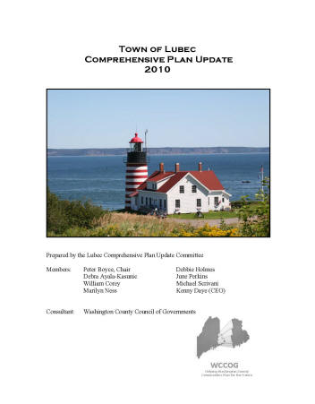 Lubec Comp Plan Cover